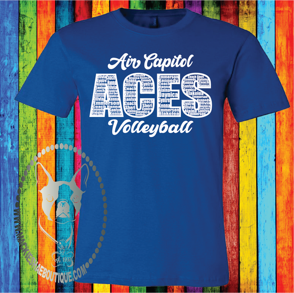 Personalized Team Custom Shirt (Get Any Team or Sport), Soft Short Sleeve
