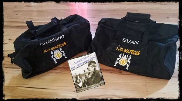 Alva Goldbugs Personalized Custom Bag, Duffle Bag (get any team)