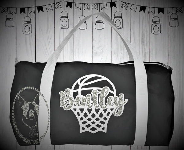 Personalized Basketball Custom Bag, Nylon Sports Bag