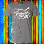 Personalized Baseball Mom Custom Shirt, Soft Short Sleeve