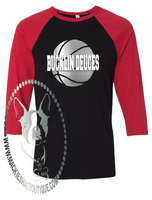Bucklin Deuces (get any team) Basketball Custom Shirt, 3/4 Sleeve