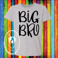 Big Bro (or Sis) Custom Shirt for Kids, Short Sleeve