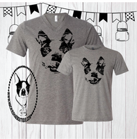 Boston Terrior Custom Shirt for Kids, Short Sleeve