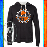 Buffalo Bison Circle Custom Shirt, Champion Hooded Pullover