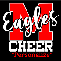 Maize Middle School Cheer Personalized Decal
