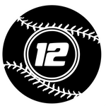 Softball Custom Decal