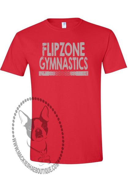 Flip Zone Gymnastics Custom Shirt, Short-Sleeve