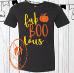 Fab BOO Lous Pumpkin Custom Shirt for Kids (2 Designs), Short Sleeve