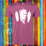 Feather Custom Shirt, Soft Short Sleeve