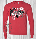 Flip Zone Team Custom Shirt, Light Weight Hoodie