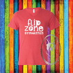 Flip Zone Fun Gymnastics Custom Shirt, Short-Sleeve