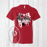 Flip Zone Team Design Custom Shirt for Kids, Short-Sleeve