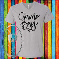 Game Day Custom Shirt, Soft Short Sleeve