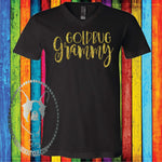 Goldbug Grammy (Can be Changed to your Team and Title) Custom Shirt, Short Sleeve