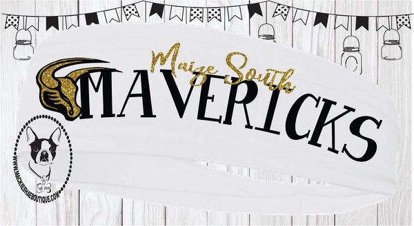 Maize South Mavericks Headband