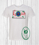 Home for The Holidays Kansas Custom Shirt, Soft Short Sleeve (Get Any State)