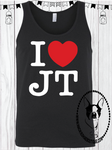 I Love JT Custom Shirt, Loose Fit Tank