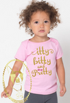 Itty Bitty and Oh So Pretty Custom Shirt for kids, Short-Sleeve **SALE**