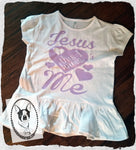 Jesus Loves Me This I Know Custom Ruffle Shirt for Kids