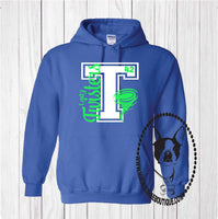 Lady Twisters Basketball Custom Shirt, Heavy Hoodie