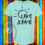 Lake Junkie Custom Shirt, Short Sleeve