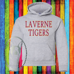Laverne Tigers Custom Shirt for Kids, Heavy Hoodie