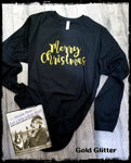 Merry Christmas Custom Shirt, Long Sleeve