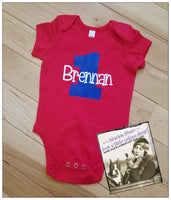 1st Birthday Personalized Custom Body Suit for Kids