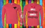 Once A Mustang Always A Mustang Custom Shirt, Light Weight Hoodie