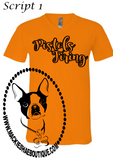 Pistols Firing Script Custom Shirt, Short-Sleeve