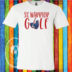 SC Warrior Golf Custom Shirt, Short Sleeve