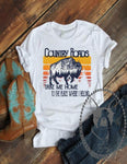 Country Roads Take Me Home Custom Shirt, Soft Short Sleeve