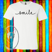 Smile Custom Shirt, Soft Short Sleeve
