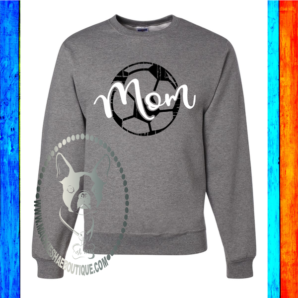 Soccer Mom Custom Shirt, Crewneck Sweatshirt