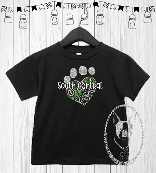South Central Paw Custom Shirt for Kids, Short Sleeve