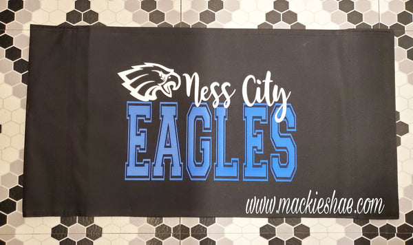 Ness City Eagles Custom Stadium Chair Cover