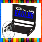 Ness City Eagles Custom Stadium Chair