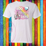 100 Magical Days Custom Shirt for Kids, Soft Short Sleeve