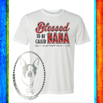 Blessed to Be Called Nana (Can be Changed) Buffalo Plaid Custom Shirt, Soft Short Sleeve