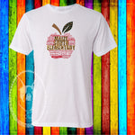 Maize South Elementary Apple (GET ANY SCHOOL) Custom Shirt, Short Sleeve