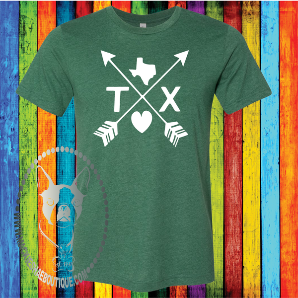 Texas Arrows Custom Shirt, Soft Short Sleeve