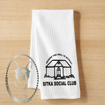 Where the Hell is Sitka? Custom Kitchen Towel