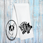 You are the Eggs to My Bacon Pig Custom Kitchen Towel
