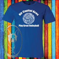 Volleyball Team Personalized Word Cluster Custom Shirt, Soft Short Sleeve (Get Any Sport)