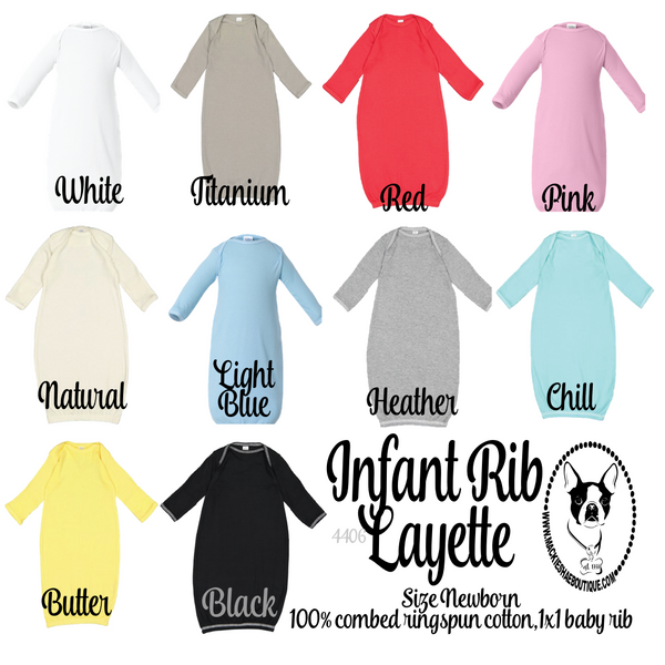 Infant Rib Layette