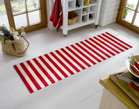 Cabana Red Stripes Mat