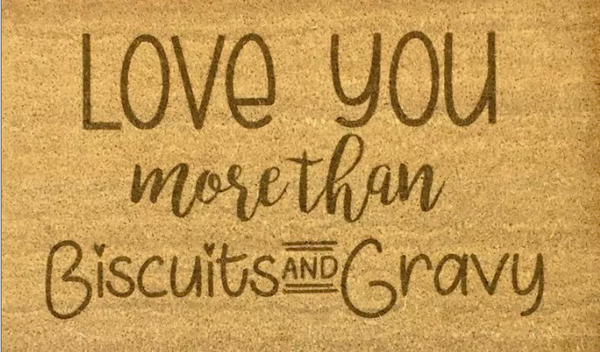 Customized Mat – Biscuits and Gravy
