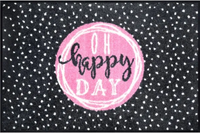 Oh Happy Day Whimsical Mat
