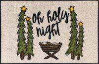 Oh Holy Night Whimsical Mat