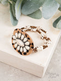 Set in Stone Leopard Bracelet, 3 Colors Available
